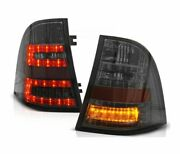 Tail Lights Ldme24 For Mercedes W163 Ml M-class 1998 1999 2000-2005 Smoke Led