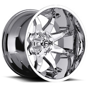4 20x9 Fuel D508 Chrome Octane Wheels 6x135 6x139.7 For Ford Toyota Jeep