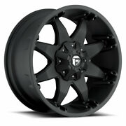 4 20x9 Fuel D509 Matte Black Octane Wheels 6x135 6x139.7 For Ford Toyota Jeep