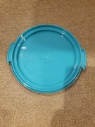 Vintage Tupperware Tuppertoys Blue Bottom Replacement For The Cake Taker 1498