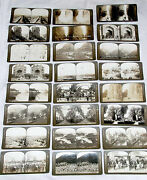 Antique Cards H. C. White Perfec-stereograph - Edition And Luxe Lot Of 30