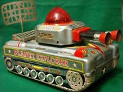 All Original 1950's Japan Tin Toy By Alps Planet Explorer. Rare Toy