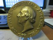 1955 Society Of Medalists 52 Hans Christian Anderson By G. Lober  Bronze Maco