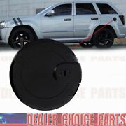 Gloss Black Gas Door Cover For 2005 2006 2007 2008 2009 2010 Jeep Grand Cherokee