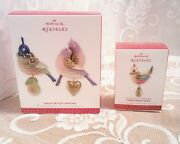 Hallmark Twelve Days Of Christmas Ornaments 2011 2012 Reissue And 2013 Nibs