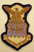 Usaf Us Air Force Bullion Full Colored Patch Insignia Badge Crest