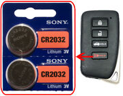 Lexus Es350 Gs350 Gs450h Ls430 Battery 2pack Sony Cr2032 For Remote Key Fob Audi
