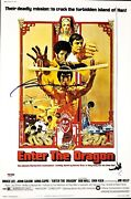 Bolo Yeung Signed Autographed 12x18 Photo Enter The Dragon Psa/dna Af69432