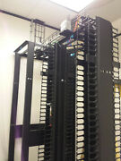 High Quality Network And Server Rack Black W/ Cable Managementandnbsp