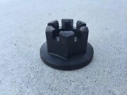 """1""""-14 Thread Castle Nut For Rotary Cutter Gearbox Woods 1018331 11-008"""