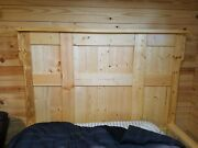 Handmade Barn Style Wooden Bed Custom Built To Suit Size Of Buyer Ship/pick Up