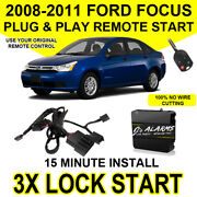 2008-2011 Ford Focus Remote Start Plug And Play Easy Install Diy 3x Lock Fo1a