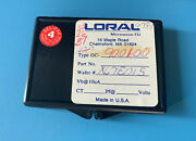 35x Gc-9001-00 Loral Microwave-fsi Ic Wafer Chip-style Package 9001-00 35/units