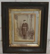 Independent Order Of Odd Fellows Patriarchs Militant Framed Portrait Photo