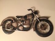 24 Amazing Rustic 3d Metal Motorcycle Wall Decor. Man Cave Sport Cars Garage