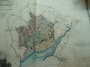 Map Of The County Of Monmouth, From An Actual Survey Greenwood 1830