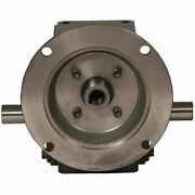 New Cast Iron Right Angle Worm Gear Reducer 401 Ratio 145t Frame