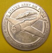 United States Army Air Force Republic P-47 Thunderbolt Medal Take A Look