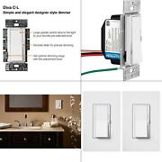 Diva C.l Dimmer Switch For Dimmable Led, Halogen And Incandescent Bulbs, Si