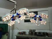 High Quality Led Ot Light 135000 Lux Double Dome Ceiling Ot Lamp Surgical Lights
