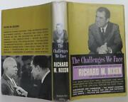 Richard Nixon / The Challenges We Face Signed 1st Edition 1960 1411713