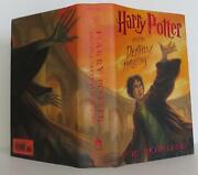 J K Rowling / Harry Potter And The Deathly Hallows Book 7 Signed 2007 1505800