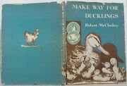 Robert Mccloskey / Make Way For Ducklings Signed 1942 1509044
