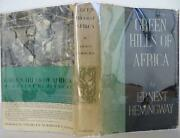 Ernest Hemingway / The Green Hills Of Africa First Edition 1935 1601036