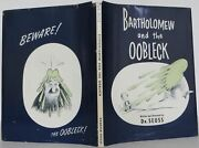 Seuss Dr / Bartholomew And The Oobleck First Edition 1949 1604032