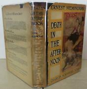 Ernest Hemingway / Death In The Afternoon First Edition 1932 1804112