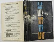 Tennessee Williams / Cat On A Hot Tin Roof First Edition 1955 1810109