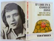 Tim Oand039brien / If I Die In A Combat Zone First Edition 1973 1907118