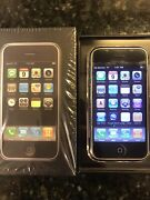 Apple 1st Generation Iphone 2g 8gb Ma712ll/a Ios 1.0 With Original Matching Box