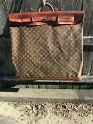 Rare Giant Louis Vuitton 65cm Steamer Well Traveled Great Patina