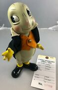 9.5 Antique American Composition Jiminy Cricket Doll Adorable 17762