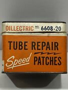 Vintage Dillectric 6608-20 Tube Repair Speed Patches Box Empty Eaton