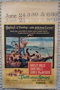 The Truth About Spring - Regional Theater Poster With Show Times - Hayley Mills