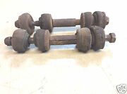 1964 1/2 1965 1966 Ford Mustang Front Sway Bar End Links Used Fine Thread
