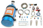 Nos Single Fogger Wet Nitrous Multi-point Efi Engines W/ 10 Lb Blue Bottle