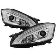 Spyder For Mercedes W221 S Class 07-09 Headlights - Hid Model Only - Chrome Pro-