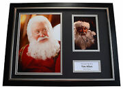 Tim Allen Signed Framed Photo Autograph 16x12 Display Santa Clause Aftal And Coa