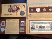 2004 Lewis And Clark Coinage And Currency Set Uncirculated