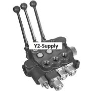 New Buyers Directional Control Valve 3 Spools 4 Way Spool Action