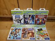 Leap Frog Leapster Star Wars Reading Math 1st Grade X-men Toy Story 3 Ratatouile