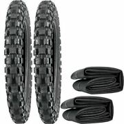 Pair Of Tyres And Inner Tubes For Yamaha Pw50