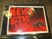 Superheroes Red White Blue Never Give Up Mr Brainwash Sold Out 2/40 Set