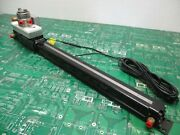 Tolomatic Bc210 Pneumatic Cylinder With Spraying Systems Air Atomizing 1/8 Vaa V