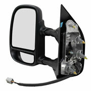 Drivers Power Side View Mirror Telescopic Double Swing For 09-18 Ford E-series