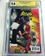 Cgc 9.8 Ss Batman And03966 The Lost Episode 1 Signed Ross Garcia-lopez Wein +2