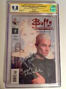 Cgc 9.8 Ss Buffy The Vampire Slayer Lost And Found Variant Signed Gellar Marsters